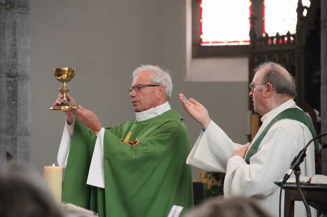 Messe des 100 ans de et en l'honneur de L'Abbé Alphonse Poullet