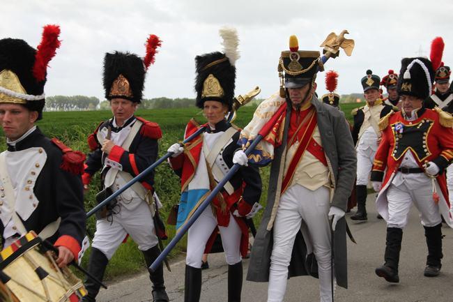 Marche de Nicolas Liagre avec le 7ème régiment