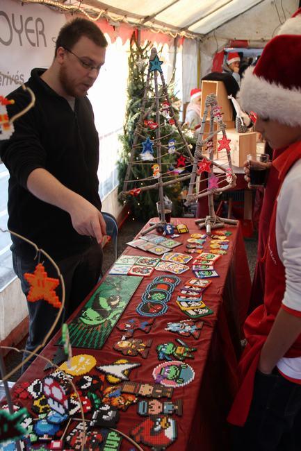 Ambiance de Noël à Dottignies