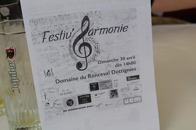 Concert pour les 150 ans de la Fanfare de Dottignies