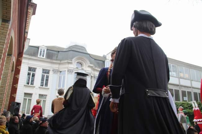 Nicolas Liagre et Christine Glorieux à la Maison des Géants