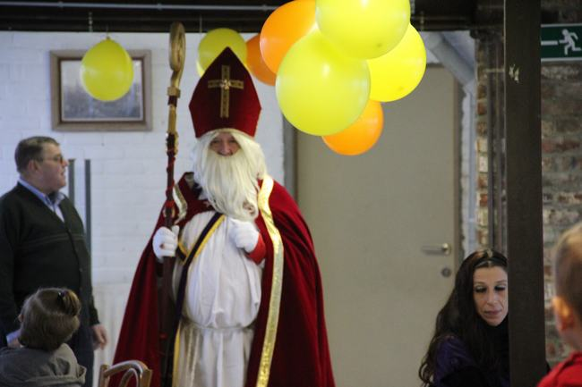 Saint Nicolas pour la Saint Vincent de Paul