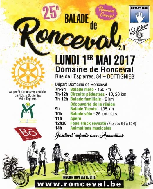 Balade de Ronceval - 2017 - Affiche