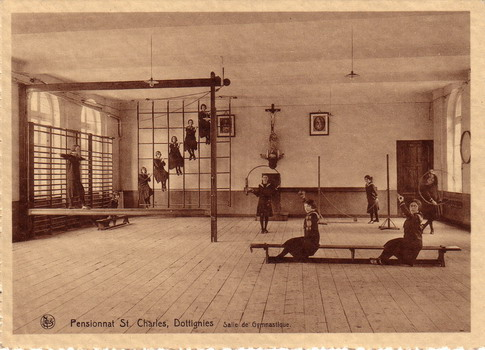 Institut St-Charles - Salle de Gymnastique