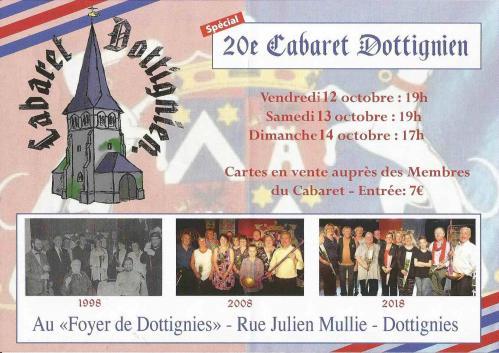 20e Cabaret Dottignien