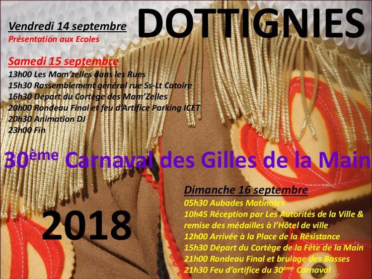 30e Carnaval des Gilles de la Main