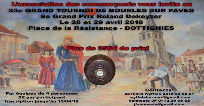 33e Tournoi de bourles