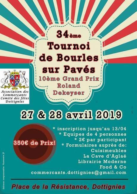 34e Tournoi de Bourles sur Pavés