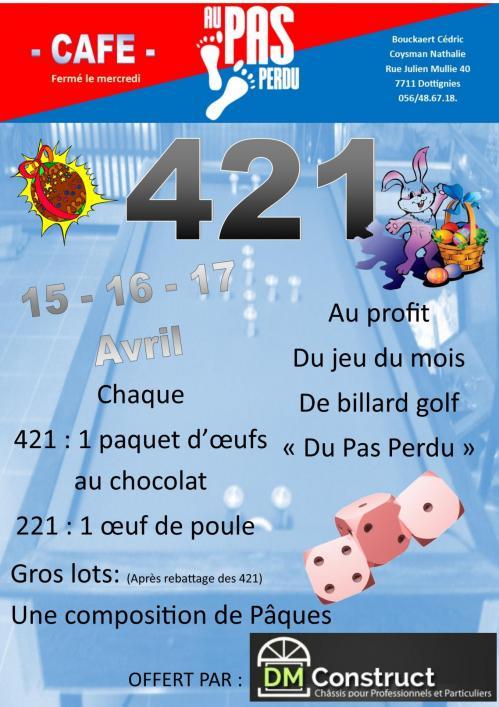 421 pas perdu 2017