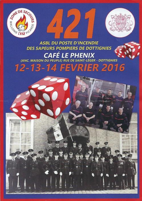 421 Pompiers 2016