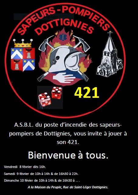 421 Pompiers 2019