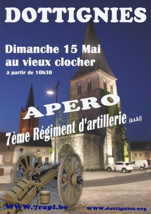 Apéro 7e Régiment d'Artillerie - 2016