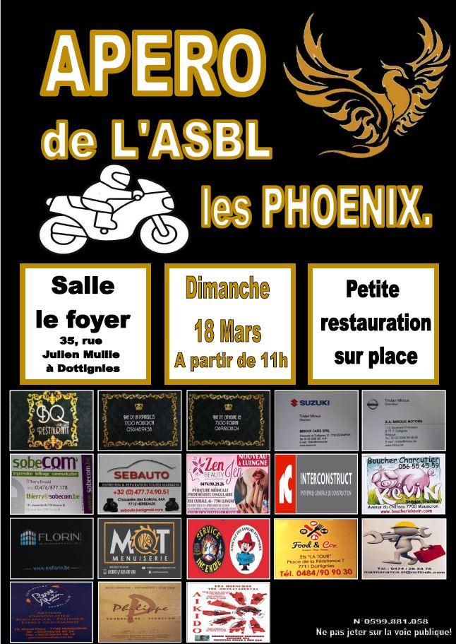 Apero ASBL Phoenix - 2018