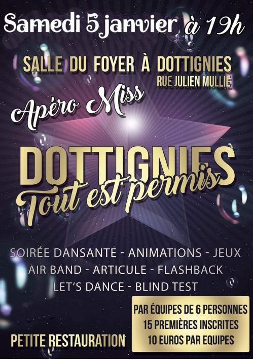 Apero Miss Dottignies 2019
