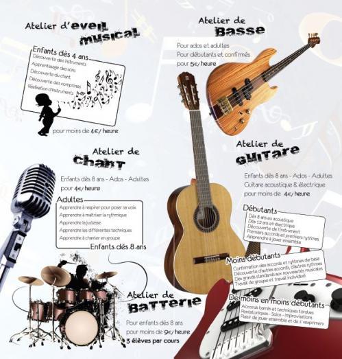Atelier musique - Le chene de l'Ecureuil