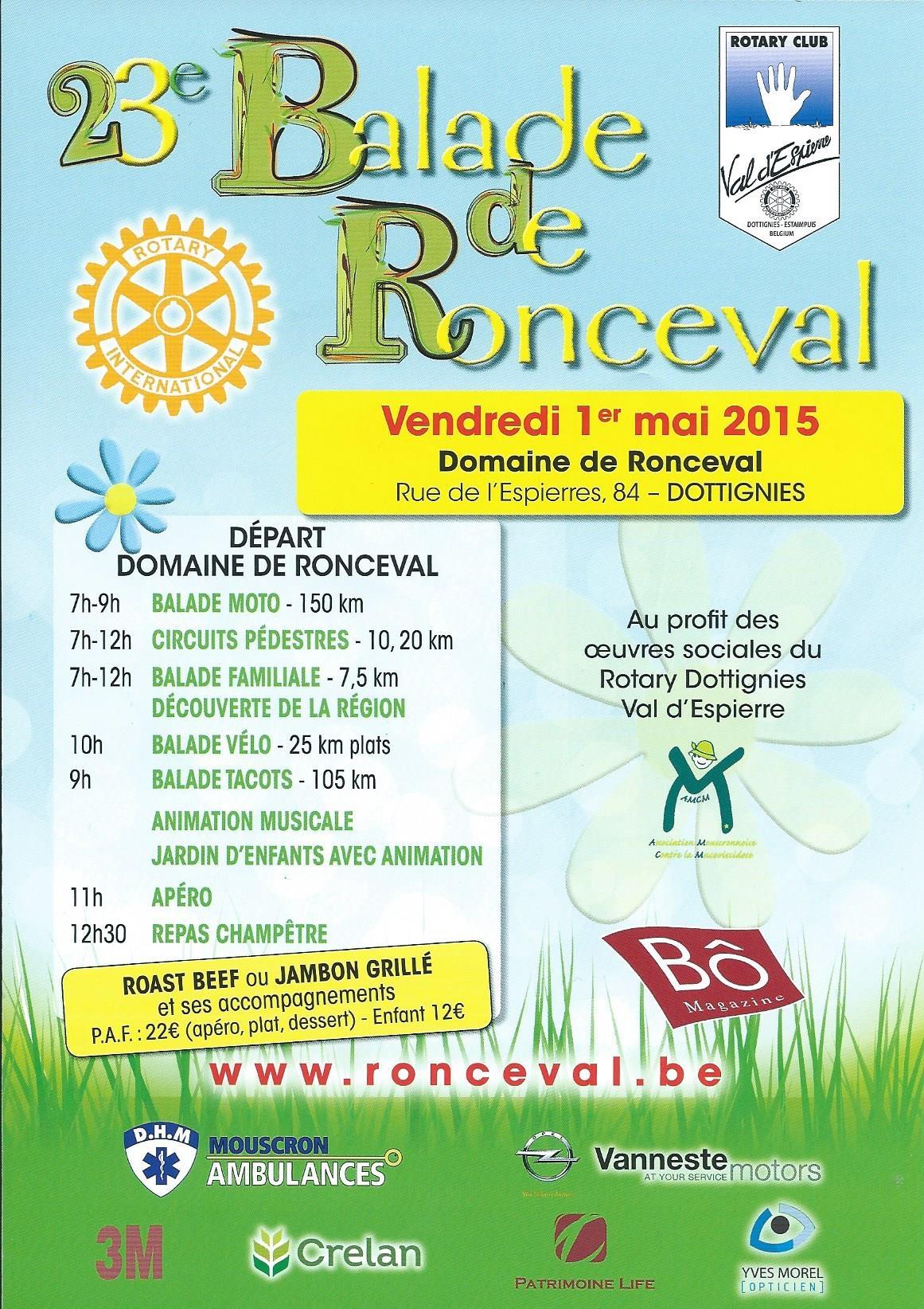 Balade Ronceval 2015
