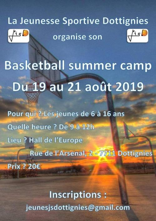 Basketball summer camp 2019