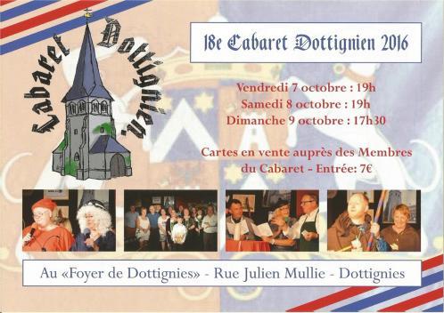 Cabaret Dottignien 2016
