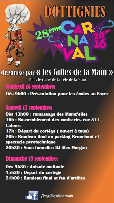 Fête de la Main 2016 - Carnaval