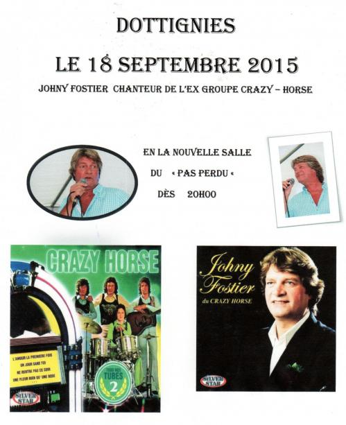 Concert Johny Fostier