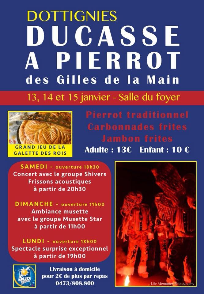 Ducasse a Pierrot - 2018
