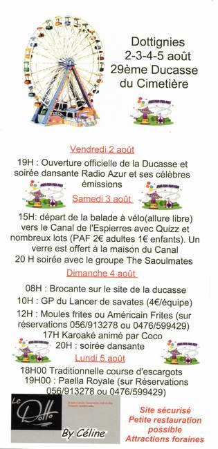 Ducasse cimetiere 2019