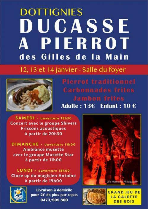 Ducasse à Pierrot 2019