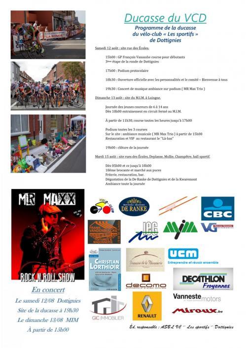 Ducasse VCD - 2017