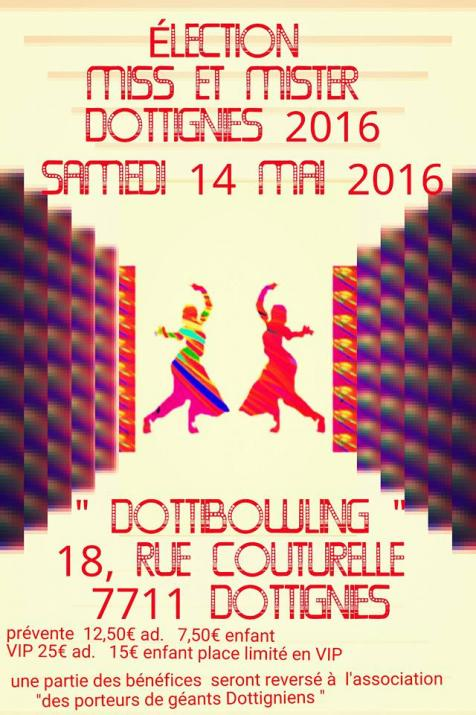 Election Miss et Mister Dottignies 2016