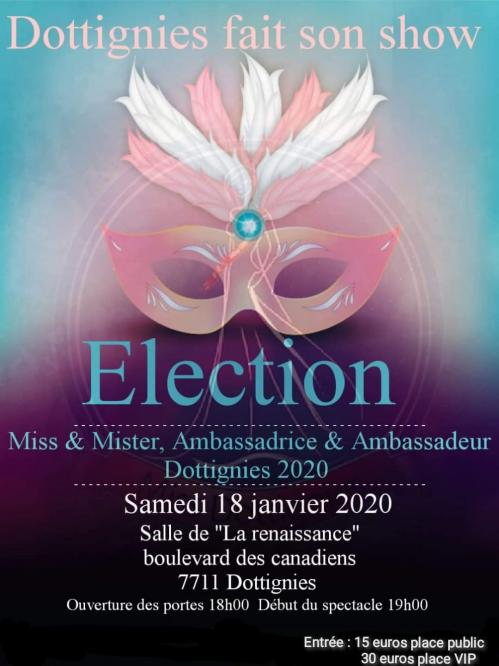Election Miss/Mister Dottignies 2020