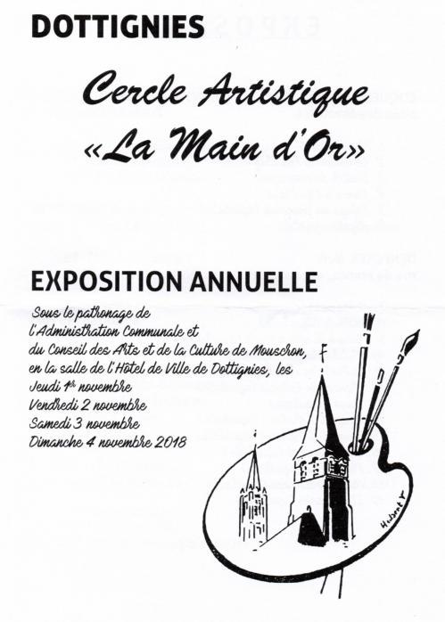 Expo cercle artistique 2018