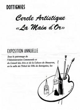 Expo Cercle Artistique de la Main d'or