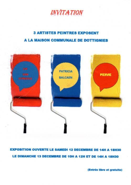 Expo peintres Décembre 2015