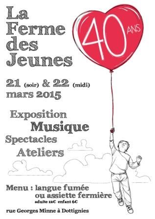 60ans des Scouts & 40ans de La Ferme des Jeunes