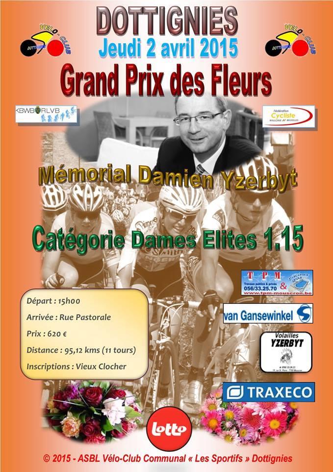GP des Fleurs - Mémorial Damien Yzerbyt