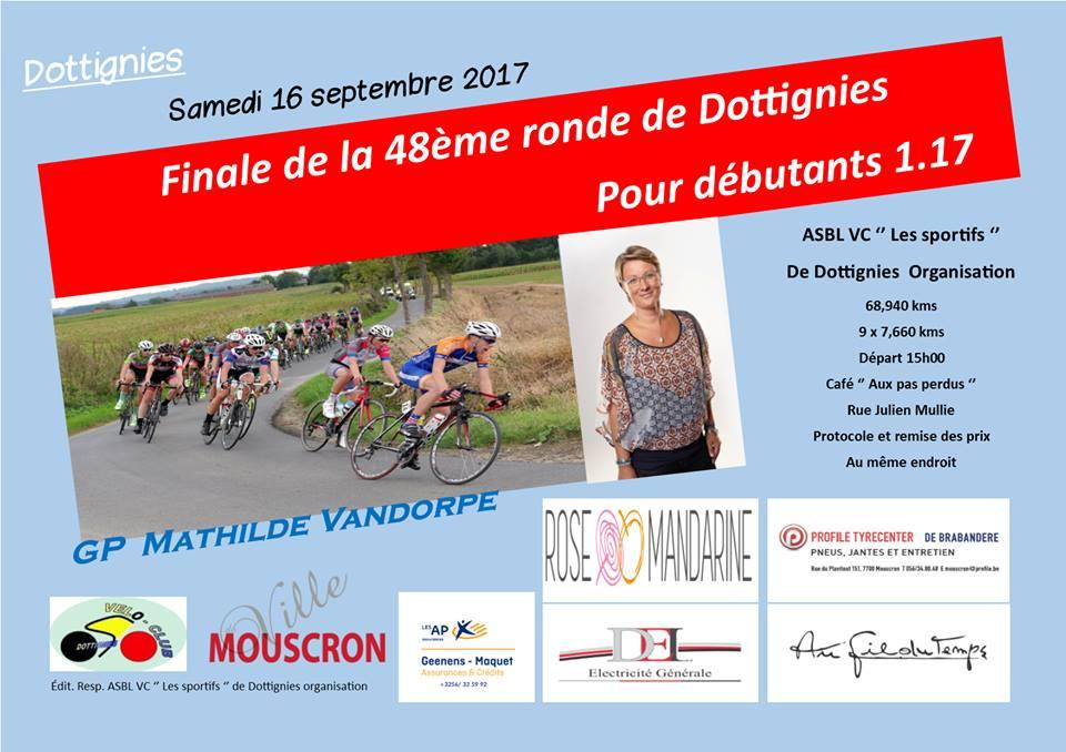 GP Mathilde Vandorpe - 2017