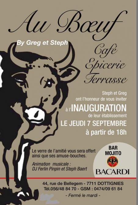 Inauguration - Au boeuf - 2017