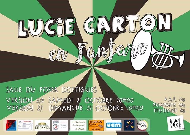Lucie carton fanfare 2017