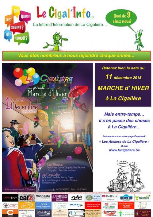 Marché d'hiver de la Cigalière - 2015