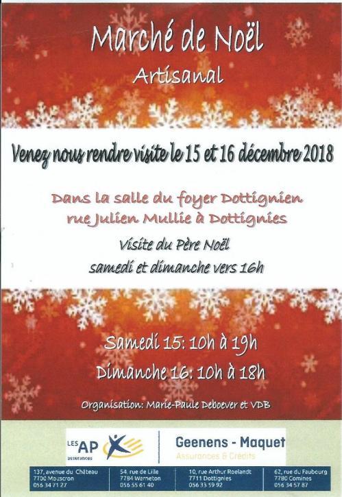 Marche noel artisanal 2018