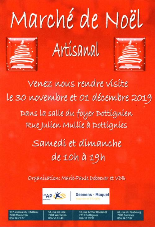 Marche noel artisanal 2019