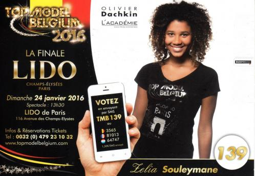 Miss Dottignies au Top Model Belgium