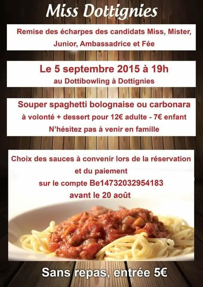 Miss Dottignies 2015