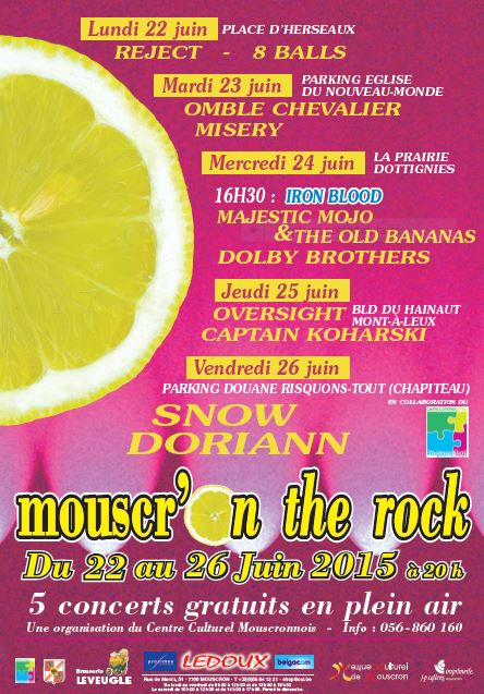 Mouscr'on the rock 2015