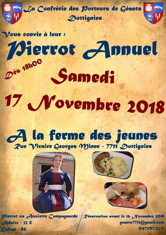 Pierrot annuel porteurs geants 2018