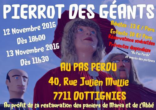 Pierrot des Géants - 2016