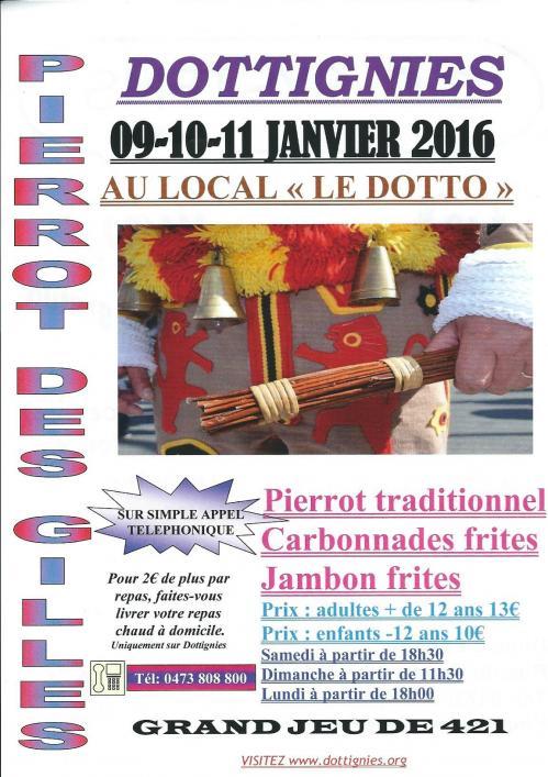 Pierrot des Gilles 2016