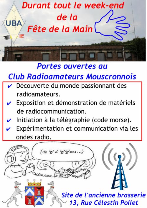 Portes ouvertes club radioamateurs 2016