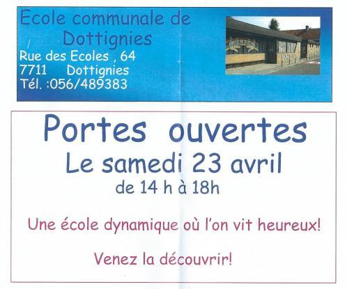 Portes ouvertes Ecole Communale 2016