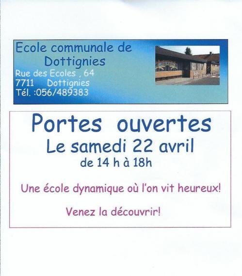 Portes ouvertes Ecole Communale - 2017